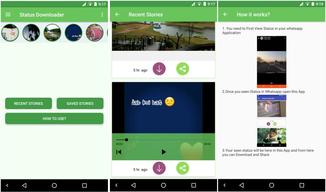 how to manually download media from whatsapp