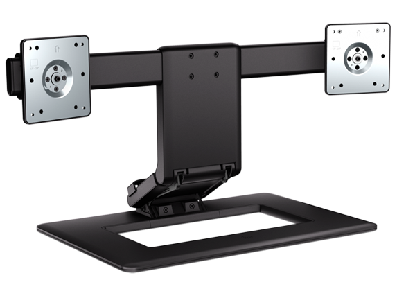 hp dual monitor stand manual
