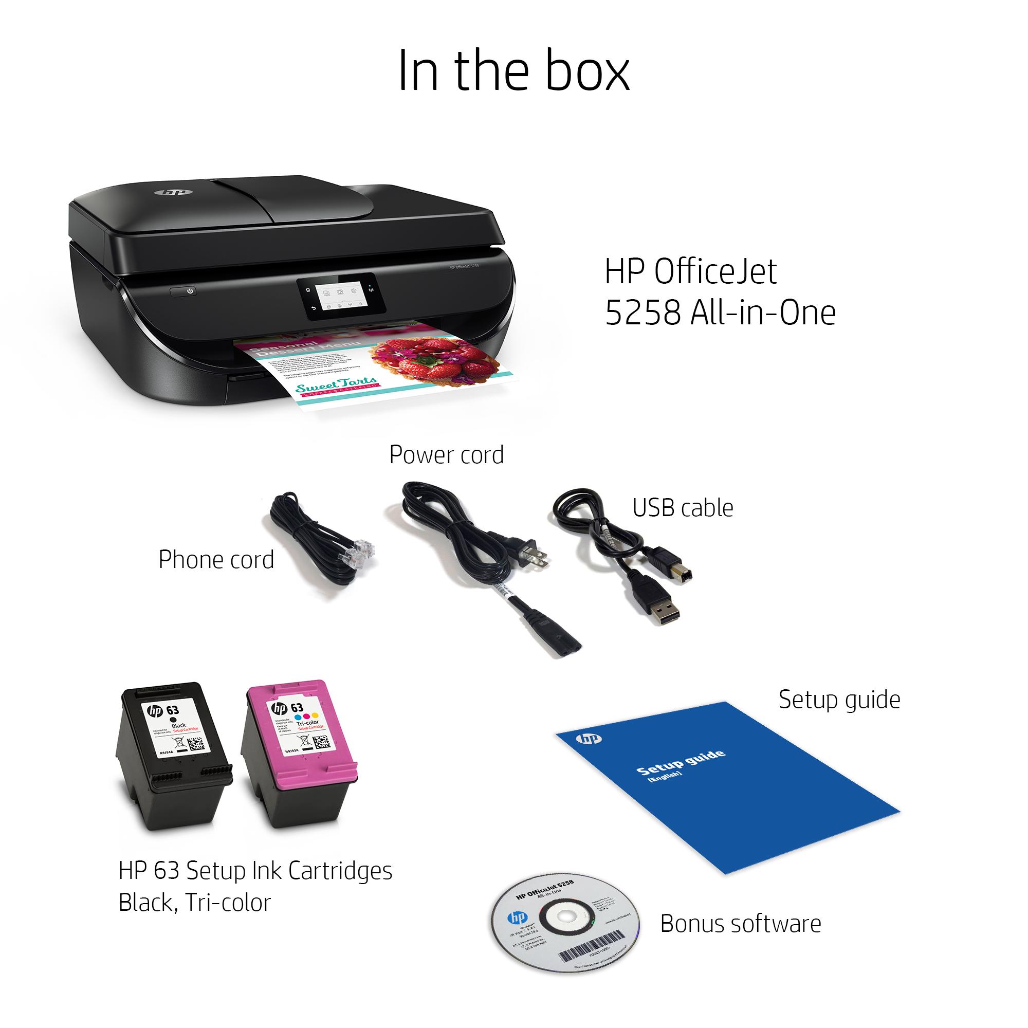 hp officejet 5258 operating manual