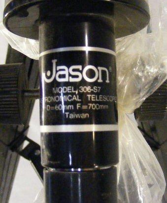 jason model 306 s7 telescope manual