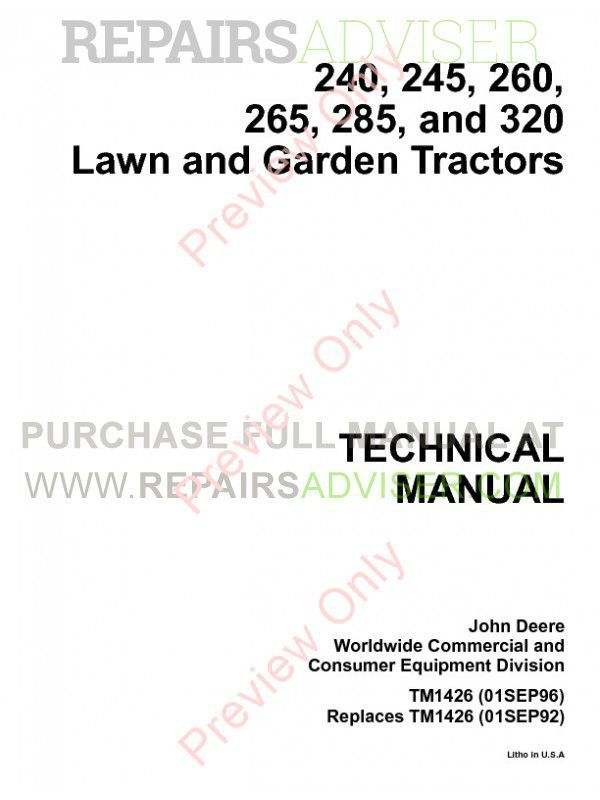 john deere 265 manual download