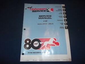 johnson 4 hp outboard motor manual