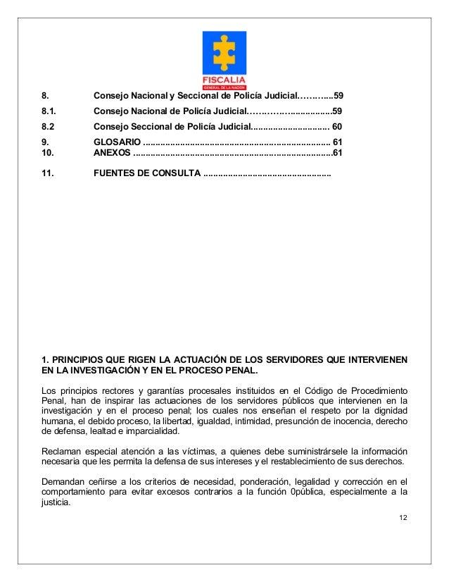 manual de policia judicial colombia pdf