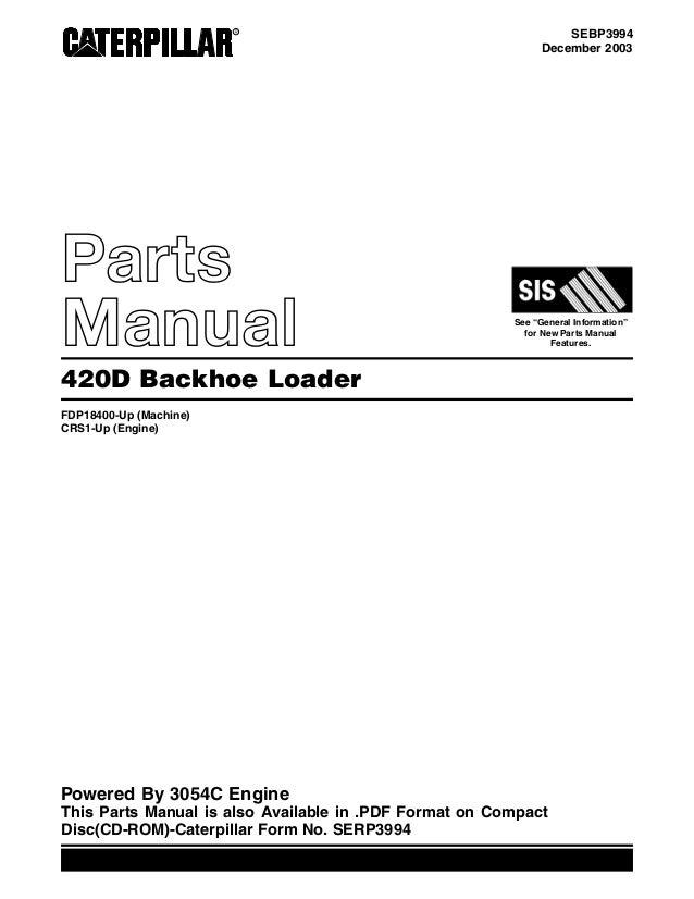 manual de taller caterpillar 420e pdf