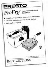 manual en espanol de electric skillet model 06852