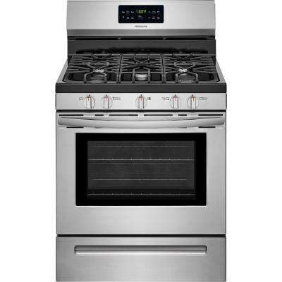 manual for a frigidaire model fpg3077qfb gas self cleaning oven