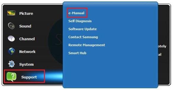 manual software update samsung tv
