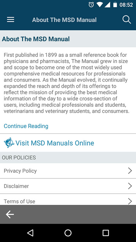 merck manual online free download