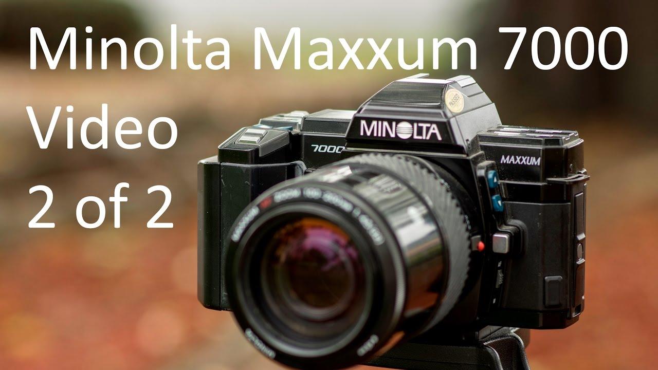 minolta dynax 7000i manual download
