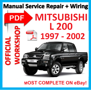 mitsubishi l200 workshop manual pdf free download
