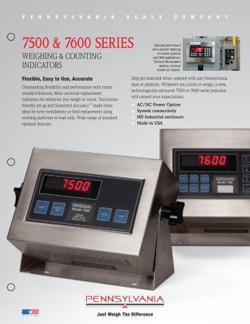 model 8250 scale operators manual