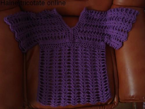 modele de pulovere tricotate manual pt copii