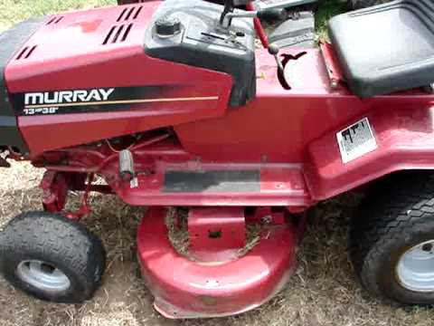 murray 12 hp 40 manual
