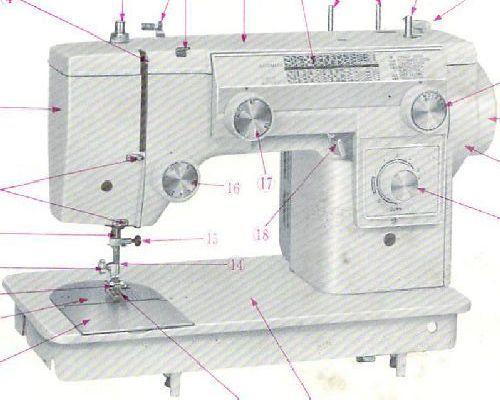 new home sewing machine model 692 manual