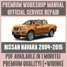 nissan navara workshop manual free download