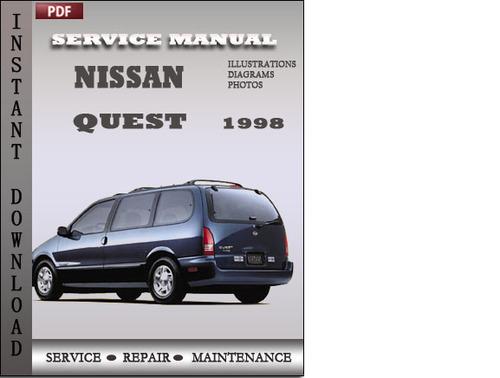 nissan quest repair manual pdf