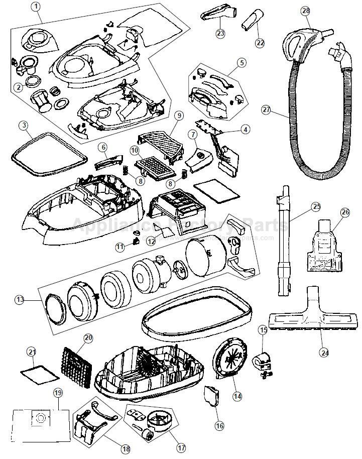 owners manual for hoover vacuum model u6430