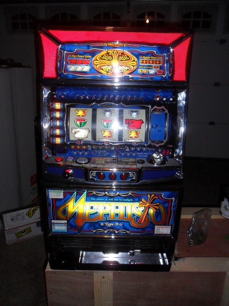pachislo slot machine model 7777 manual