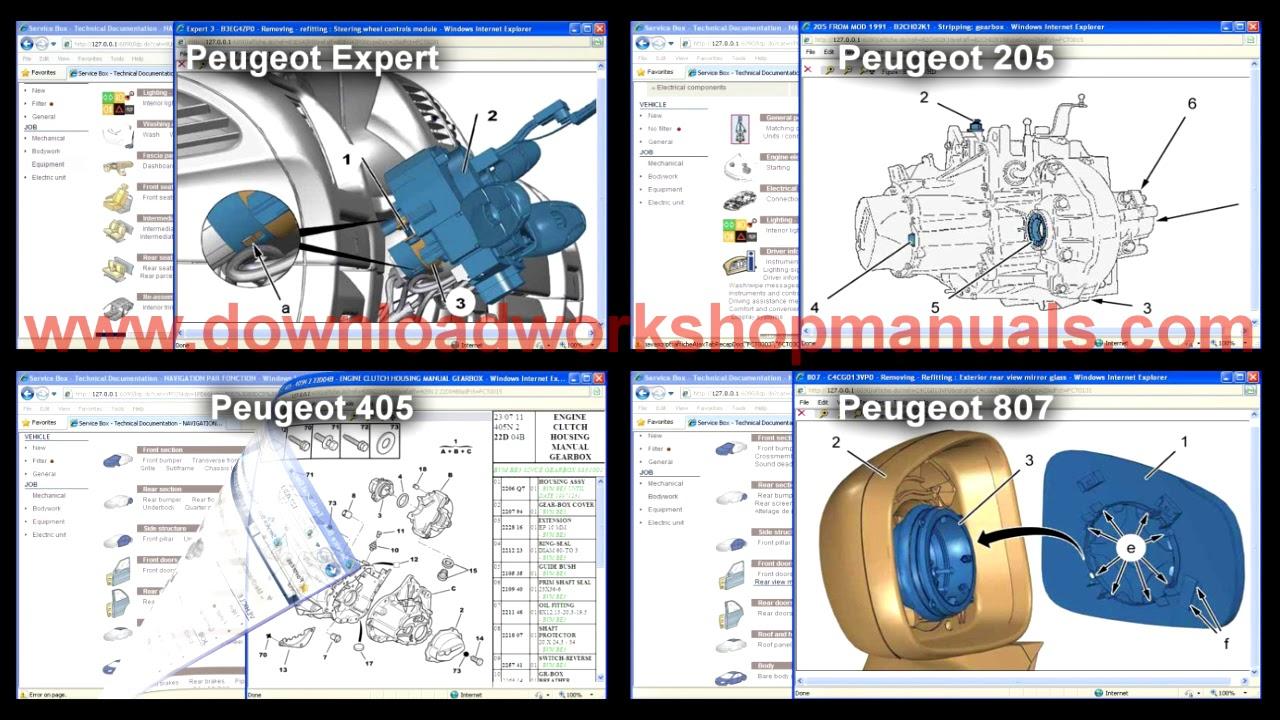 peugeot 207 workshop manual free download pdf