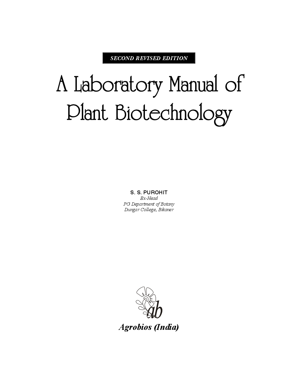 plant biotechnology practical manual pdf