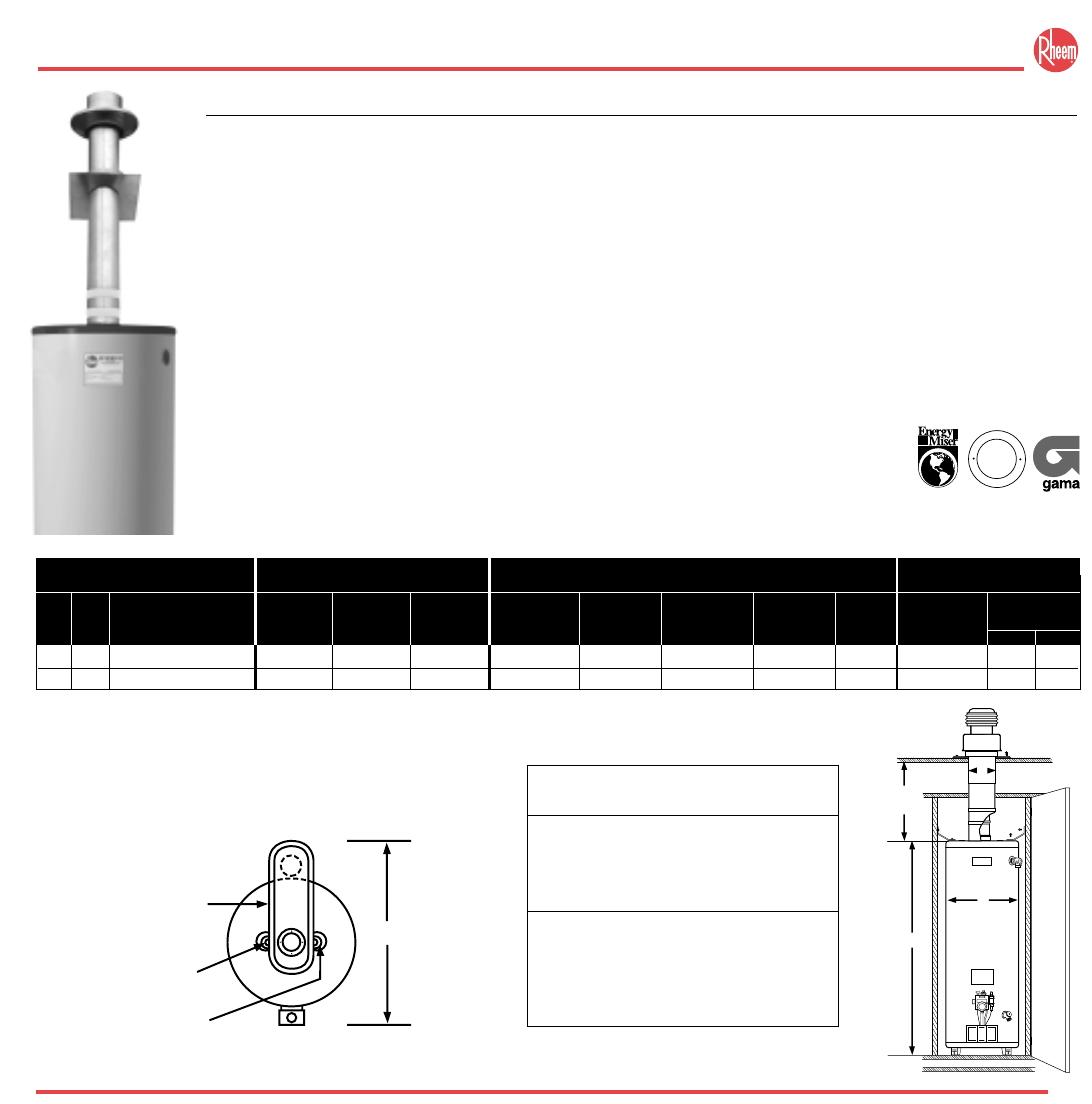 rheem model no 82v52-2 water heater manual