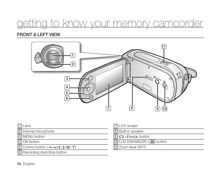 samsung 34x optical zoom digital camcorder manual