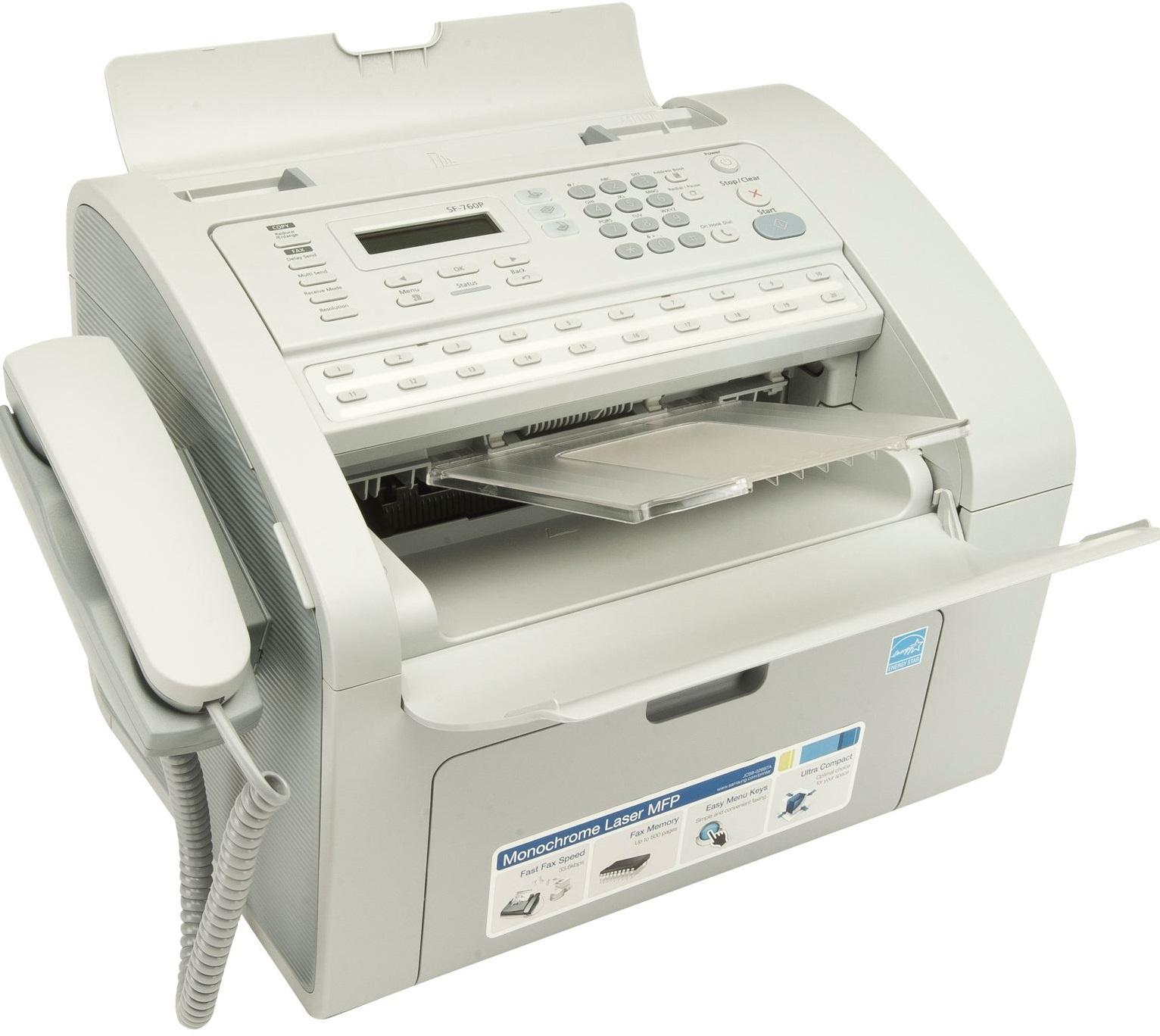 samsung fax machine sf 760p manual