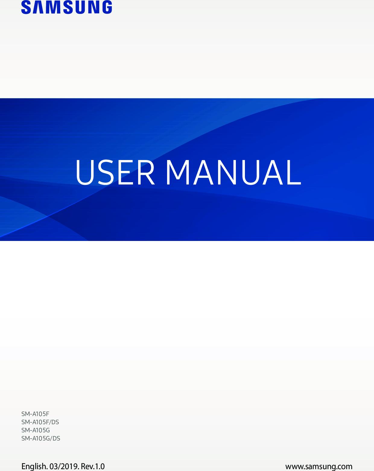 samsung galaxy a10 manual pdf