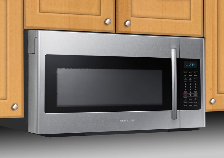 samsung over the range microwave installation manual
