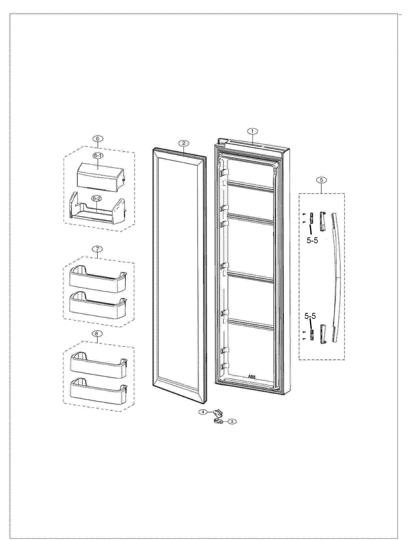 samsung refrigerator model rs261mdrs manual