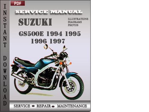 suzuki gs500 repair manual download free