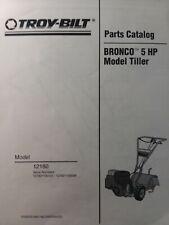 troy bilt bronco tiller model 12180 manual