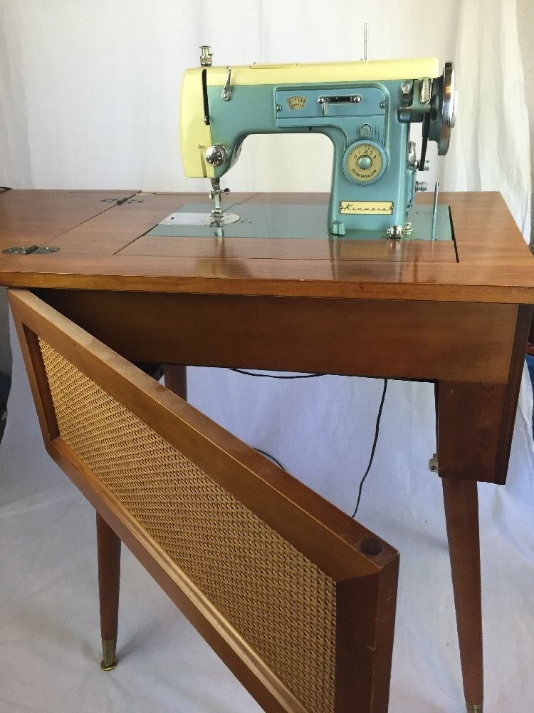 vintage model 1120 sears kenmore cabinet sewing manual